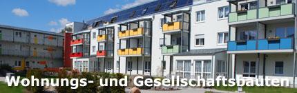 Wohnungsbau - Gesellschaftsbauten
